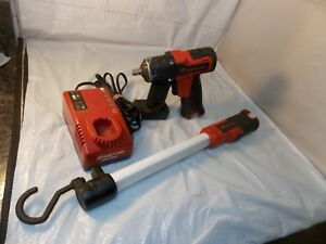 Snap on Tool Bundle Impact Wrench Ct761a w Battery charger utility Light Ctlu761
