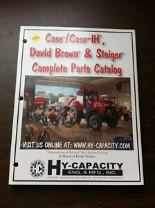 2004 Case case ih David Brown Steiger Complete Parts Catalog Hy capacity