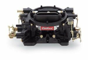 Edelbrock 14053 Performer Series 600 Cfm Black Manual Choke Carburetor