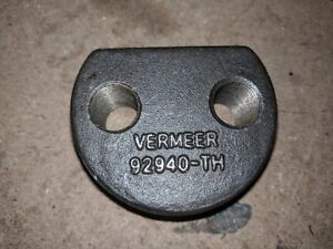 1 X Vermeer Rotatech Stump Grinder Tooth Saddle 92940 003