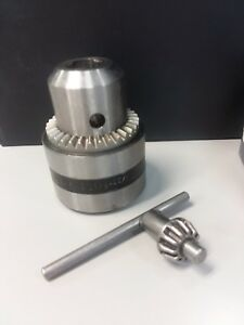 Rohm Bb16 3 Drill Chuck 1 32 5 8 Taper 3 Key S 10 New 2 Available