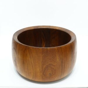 Danish Modern Dansk Jhq Jens Quistgaard Teak Wood Salad Serving Bowl