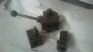 Quick Change Tool Post with 4 Toll Holders also Ims Or Doall Axa