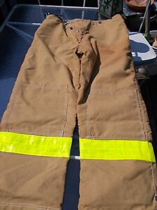 Cairns Firefighter Structural Turnout Gear Pants With Liner Nwot 42x30 Fireflite