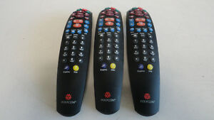 Gg13 Lot Of 3 Polycom Viewstation Infrared Remote Control