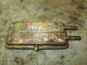 Ih Farmall 560 Diesel Used Working Engine Oil Cooler Assembly Antiquetractor