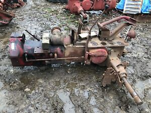 Ih Farmall H Rear End W belly Pump Out Of Running Tractor