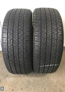 2x P215 45r17 Firestone Fr740 7 32nds Used Tires