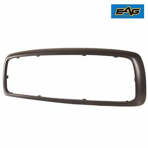 Grille Shell Matte Black Abs Plastic Fits For 2003 2005 Dodge Ram 1500 2500 3500