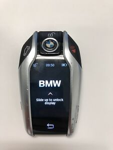 2016 2017 2018 Bmw 6 7 Series Smart Display Key Keyless Entry Remote Fob Oem