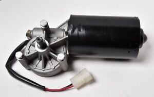 12v 60w Dc Wiper Left Angle Reversible Electric Worm Motor 35 50 Rpm High Torque