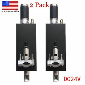 2pcs 100mm Dc24v Plasma Flame Cnc Cutting Machine Z Axis Torch Lifter Holder