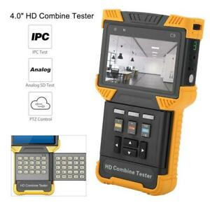 Dt t60 Cctv Tester 1080p Ip Analog Camera Tester 4 0 Inch Hd Combine Tester