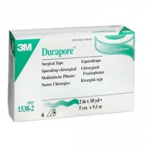 3m Durapore Silk Cloth Medical Surgical Durapore Tape Pack Of 5free Shiping