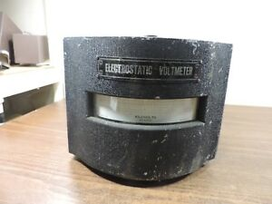 Electrostatic Voltmeter Model Esh Kilovolts