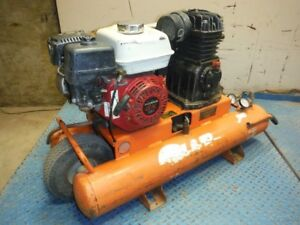 2012 J air J113h5 9p Portable Gas Wheelbarrow Air Compressor W Honda Gx160