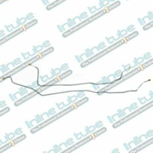 1995 99 Chevrolet Gmc Suburban 1500 Tahoe Yukon Rear Axle Brake Lines Stainless