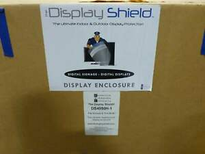 Pec The Display Shield Weatherproof Display Enclosure horizontal 40 50 Wit