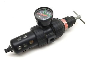 Speedaire 4z028a Pneumatic Air Regulator And Filter 150psi 125 f Max 3 8 Npt