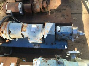 Waukasha Size 015 Stainless Steel Positive Displacement Pump
