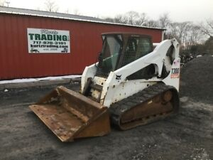 2007 Bobcat T300 Compact Track Skid Steer Loader W Cab Coming Soon