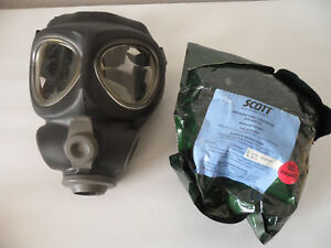 Scott M95 Full Face Respirator Nbc Gas Mask Swat Military Police Regular adult