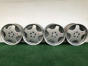 Mercedes Benz S55 S430 S500 S600 Amg 18 Genuine Factory Oem Wheels Rim Set