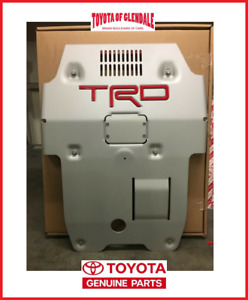 2016 2019 Toyota Tacoma Trd Pro Front Skid Plate Genuine Oem New Ptr60 35190