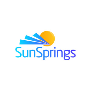 Sunsprings com Brandable Domain Name Free Push To Godaddy Sun Springs