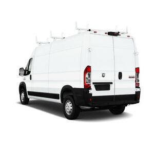 3 Bar 72 For Ram Promaster 2013 On Steel Cargo Van Utility Ladder Roof Racks