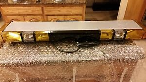 Whelen Edge 8 Strobe Lightbar Remanufactured With Waranty Limited Sale
