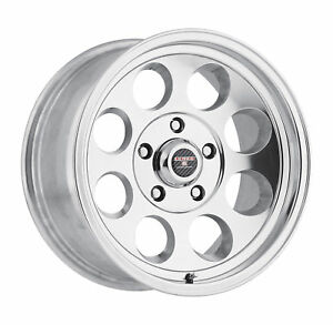 15x10 Level 8 Tracker Polished Wheels 5x4 5 48mm Set Of 4