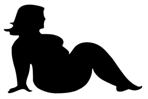 Thick Chick Decal Sticker Sexy Fat Girl Vinyl Decal For Car Windows Outdoors