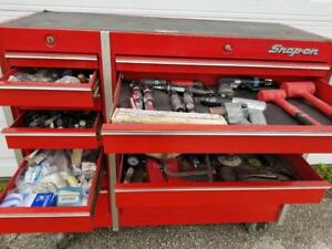 1990 Snap On Tool Box Kr 660 B Assorted Parts And Tools Included