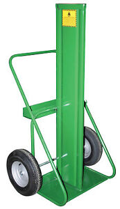 Heavy duty Oxygen And Acetylene Cart W firewall