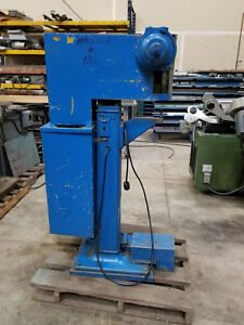 Trs Riveting Machine Model 81j Sn3451 Good Working Machine