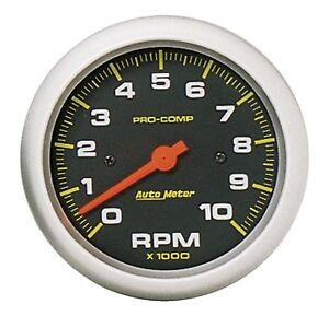 Autometer 5161 Pro comp Electric In dash Tachometer