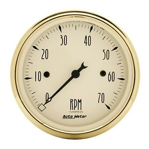 Autometer 1595 Golden Oldies Electric Tachometer