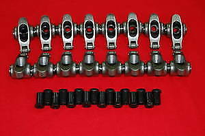 Sbc Stainless Roller Rockers 1 5 3 8 Self Aligning 350 Vortec Small Block Chevy