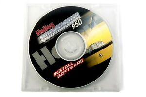 Holley Efi 534 191 Commander 950 Race Software Upgrade