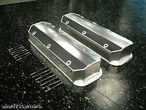 Bbc Chevy Fabricated Valve Covers Tall 396 Aluminum