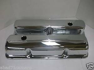 Chrome Ford 352 390 406 427 428 Valve Covers Fe