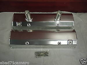 Sbc Chevy Fabricated Valve Covers Circle Track Dirt Small Block
