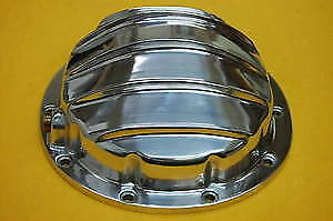 10 Bolt Rear End Differential Cover Gm Polsihed Aluminum