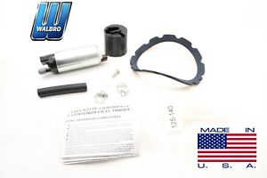 New Walbro Electric Fuel Pump Kit 100 Lph Gss310 Gca703 2 Ford Mercury 1986 02