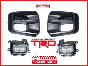 2016 2019 Toyota Tacoma Trd Pro Rigid Industries Led Fog Light Kit Genuine Oem