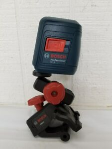 Bosch Professional Laser Level Self leveling Cross line W Mount Gll2