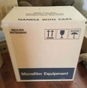 New Old Stock Micron 770a Microfiche Reader Dual Magnification