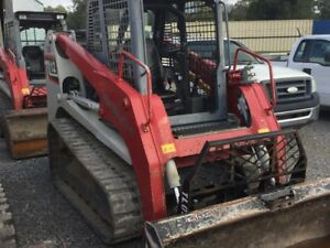 Skid Steer Takeuchi 2014 Bucket Forks Included 11 618 Opt Weight 110hp