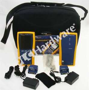 Fluke Dtx 1800 Cable Analyzer And Smart Remote Dtx1800